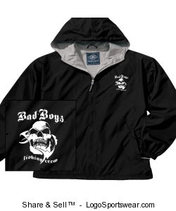 Adult Full Zip Front Portsmouth Jacket Design Zoom